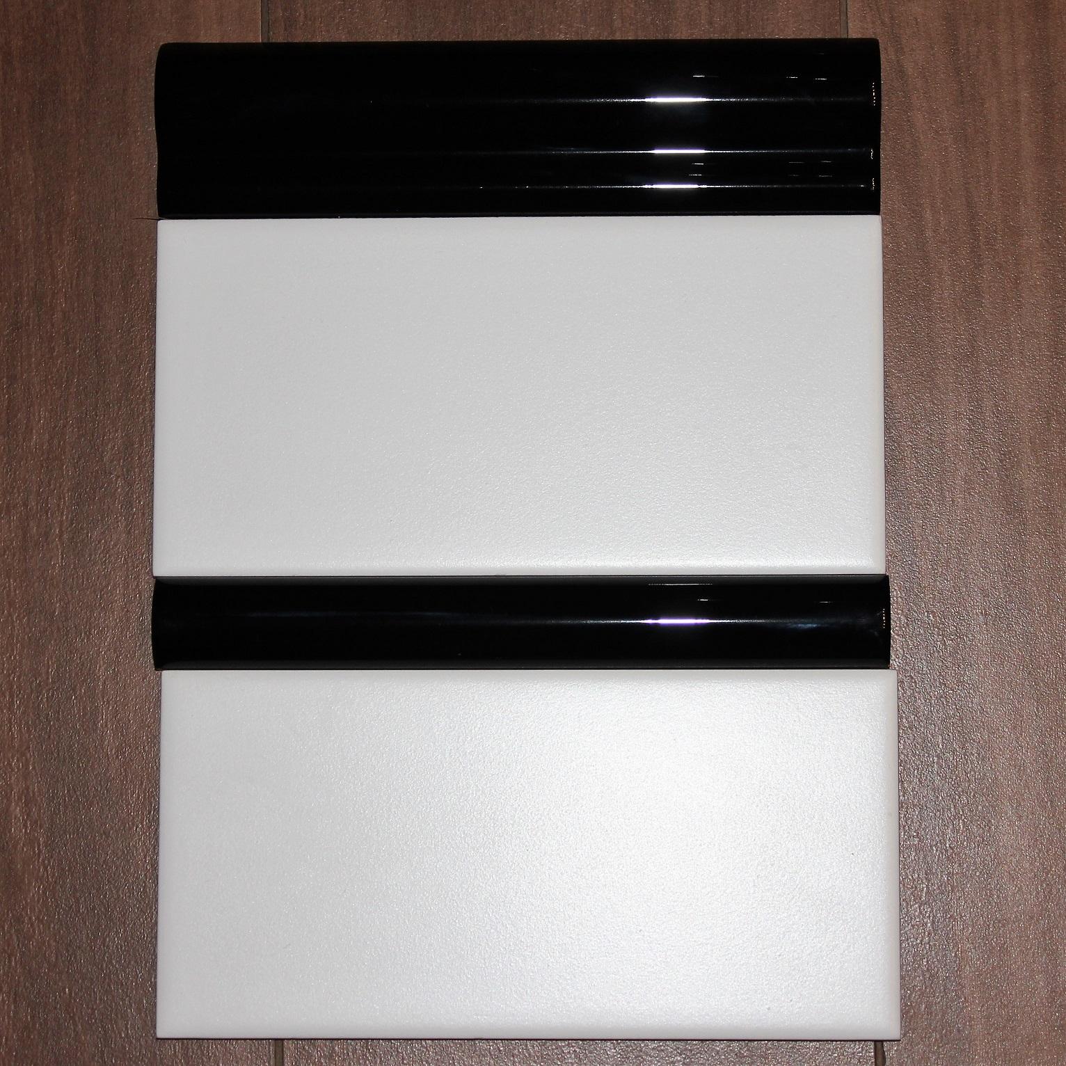 Listwa Ceramiczna Nero Blyszczaca London 5x20 Tamoe